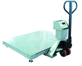 SCS1.5*2米叉车移动式地磅秤