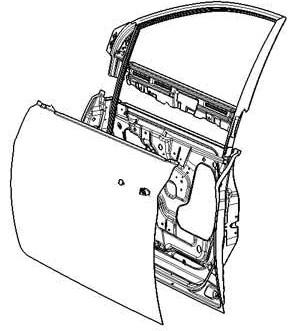 轿车车门结构及相应密封条结构介绍
