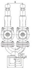 A38Y双联弹簧式安全阀