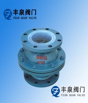 H40F46衬氟升降式止回阀