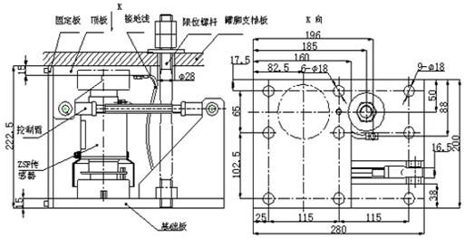 柱式传感器贴片电路图