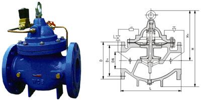 220v交流接触器和浮球阀接线图