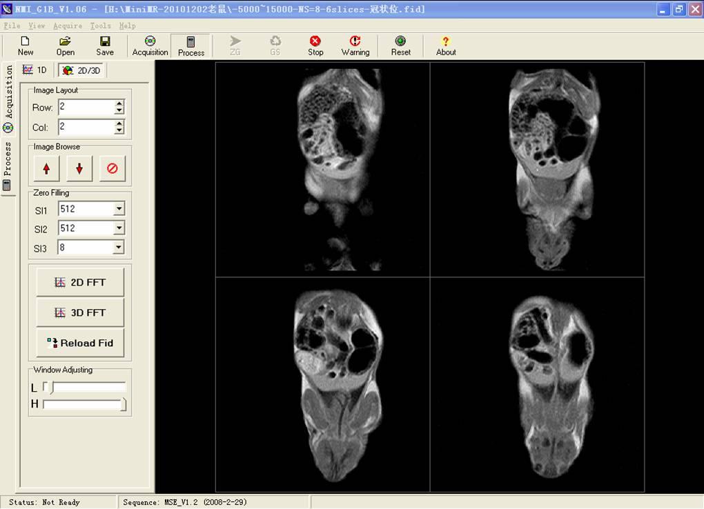 实验动物小核磁共振成像仪minimr-60