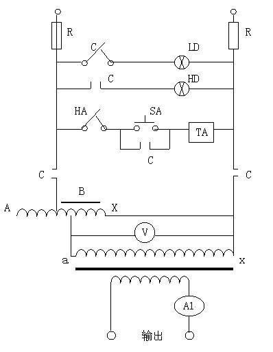 大电流发生器原理