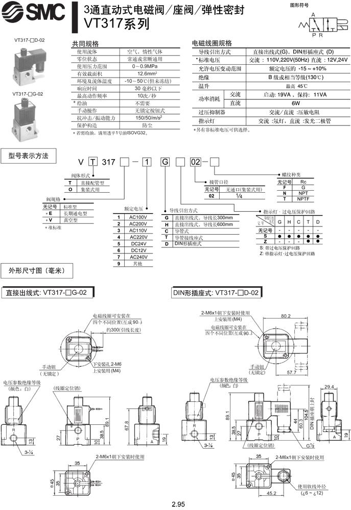 其他气动元件-三通电磁阀