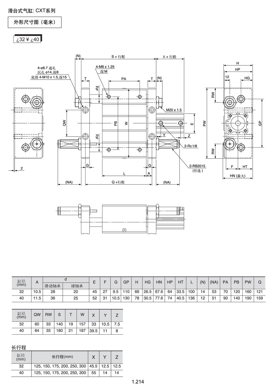 气动气缸单循环组成工作电路图及电器名称