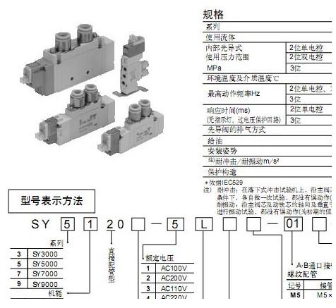 smc气缸型号图片