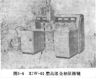 国产XJW—01型高温金相显微镜