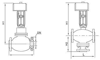 霍尼韦尔电动调节阀图片