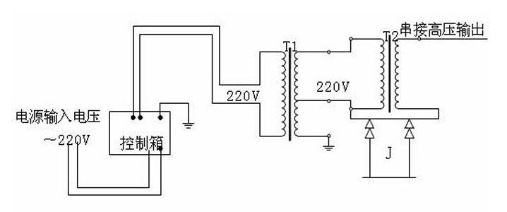 高质量大电流发生器; 电路图:;