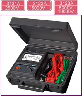 测量仪简介 高压绝缘电阻测试仪kew3121a/3122a/3123a最适用于cv电缆