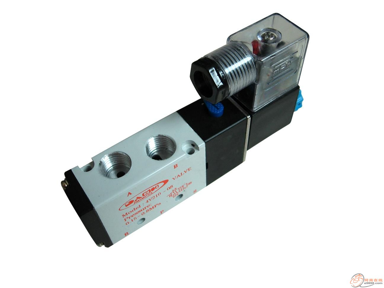 4v430-06 4v430-08,4v430-10,4v430-15 4v230-15 airtac系列电磁阀3v1