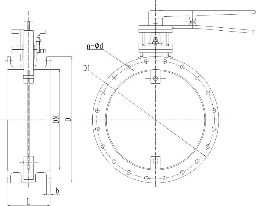 stf-i(圆形)手动风量调节阀