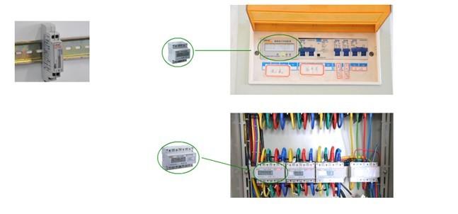 acrel电能表接线图