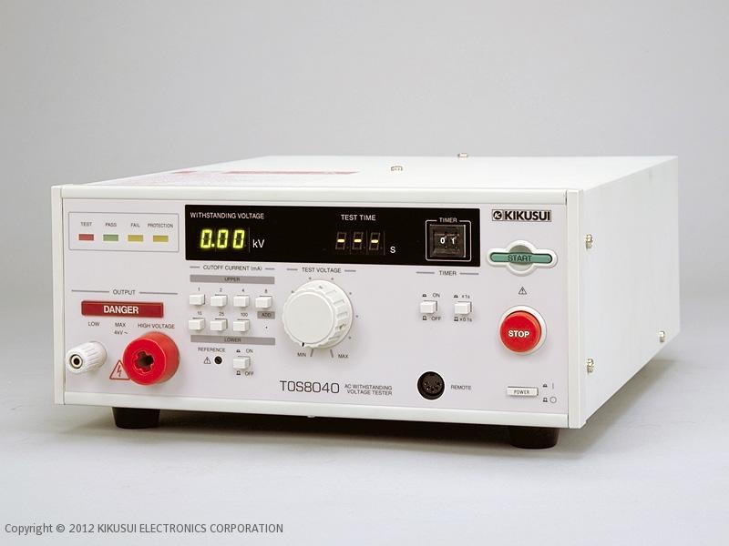 日本菊水tos8030 耐压测试仪
