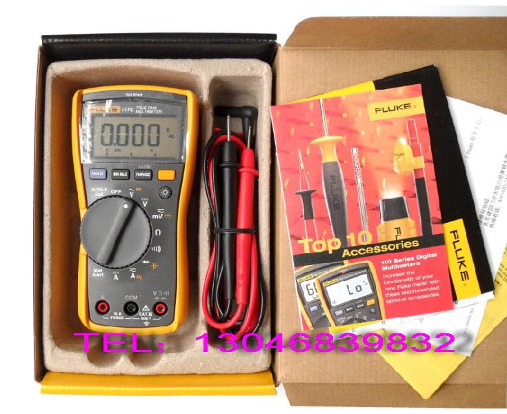另外还有 fluke 114 电气测量万用表,fluke 115c 万用表以及带温度和