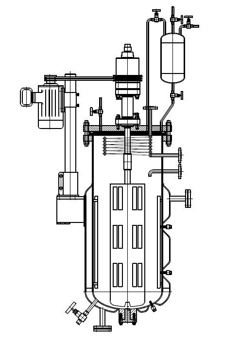 GSH减压蒸馏反应釜_v氮气仪器设备_实验室用lm氮气图纸推进器魔兽图片