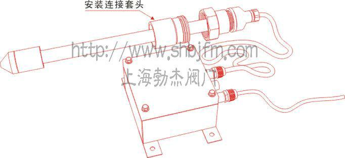 离子棒水处理器结构图