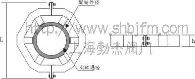 管外强磁水处理器结构图