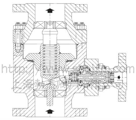 高压自动再循环阀结构图