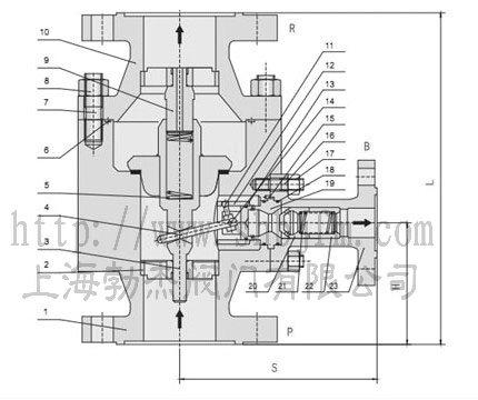 中低压自动再循环阀结构图图片