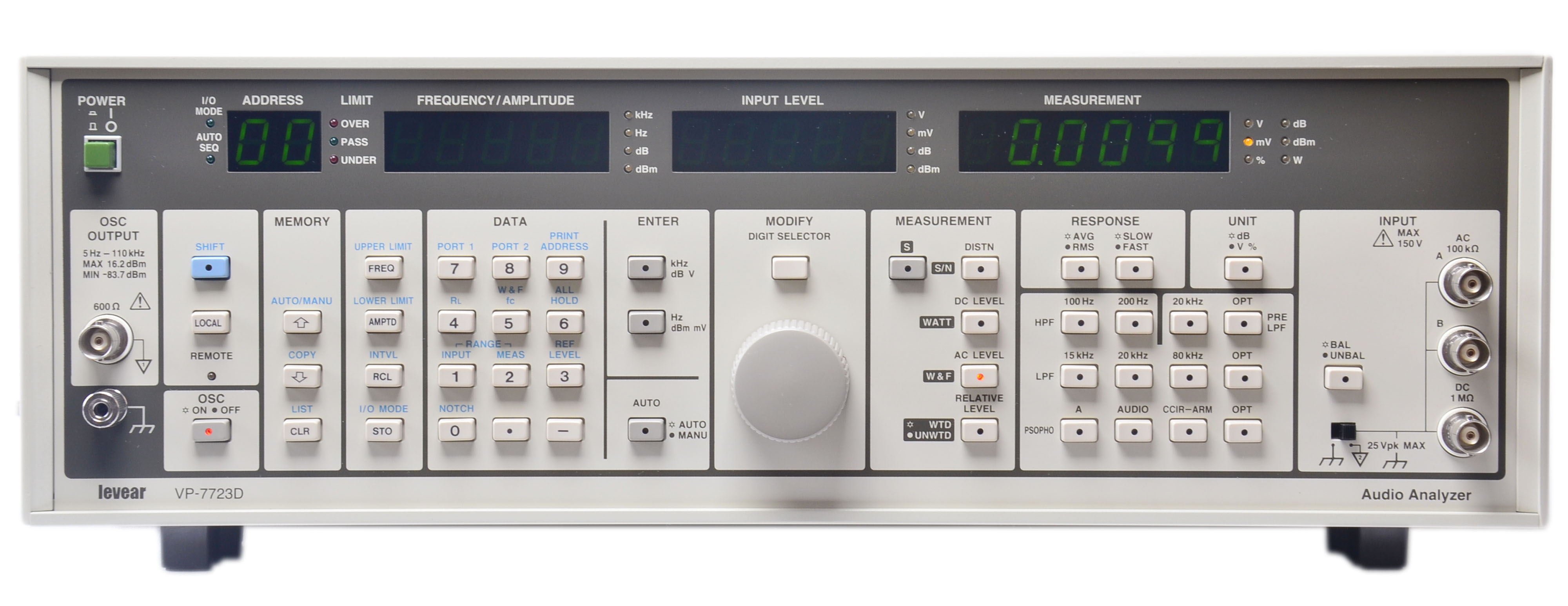 VP-7723D音頻分析儀
