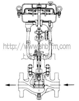 笼式调节阀结构图