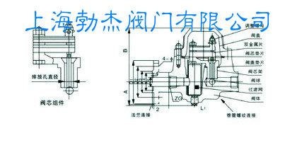 双金属片式蒸汽疏水阀结构图