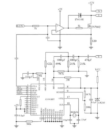 电流环产生电路采用v/i转换电路