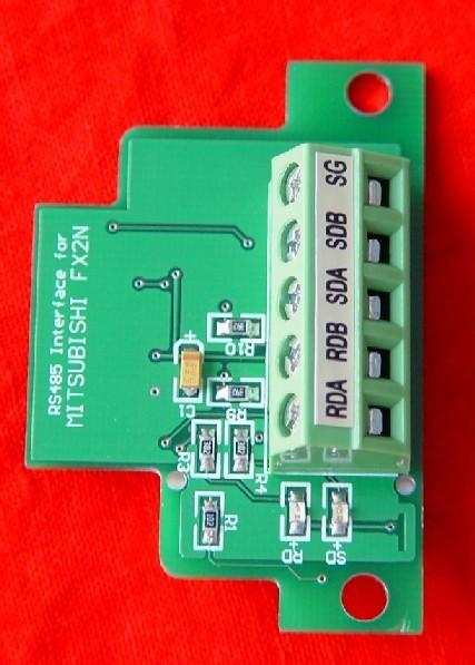 佛山三菱通讯板fx2n-485-bd,现货供应价格好