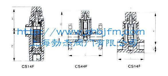 热静力波纹管式蒸汽疏水阀结构图