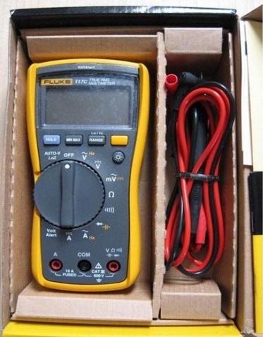 117c-非接触式电压测量万用表