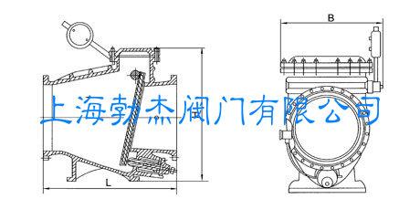 hh44x-微阻缓闭止回阀-上海勃杰阀门有限公司
