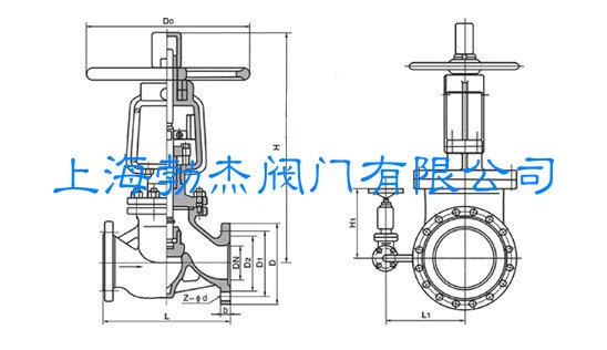 氧气截止阀结构图