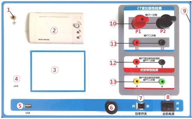全自动互感器特性综合测试仪